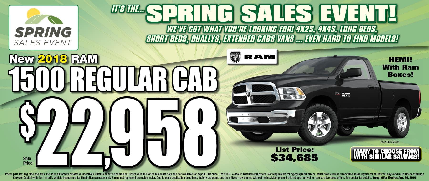 Ram Regular Cab Trucks! - University Dodge RAM!