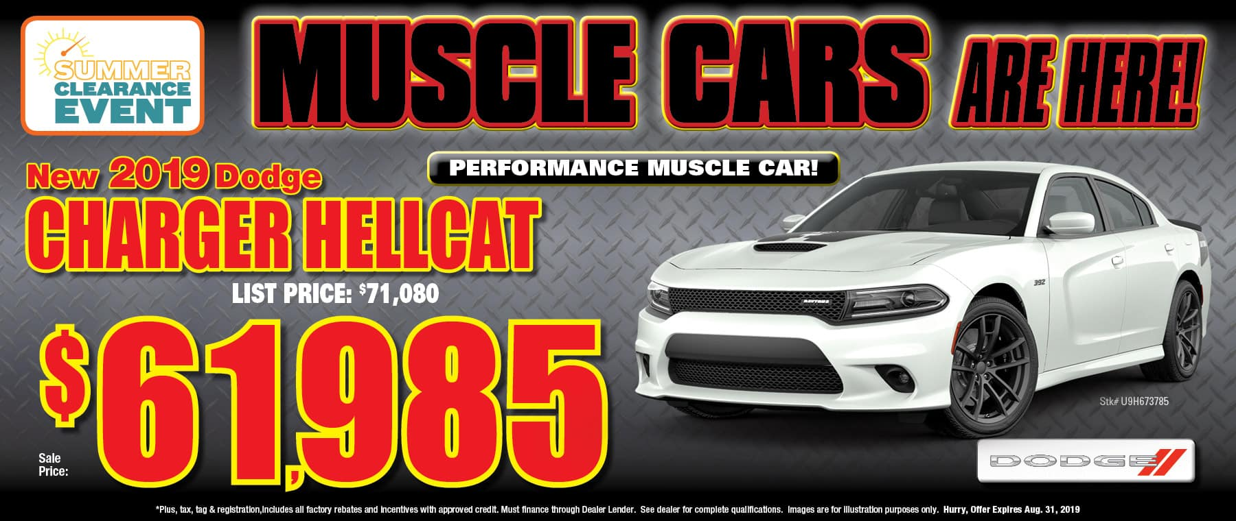 New 2019 Dodge Charger Hellcat!