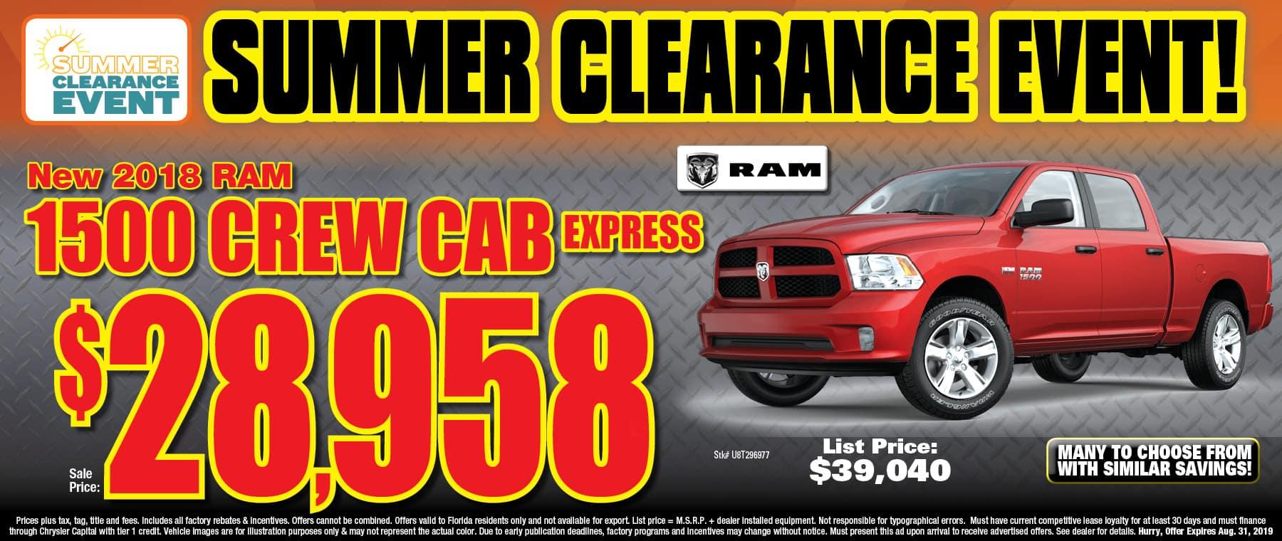 New Ram Express Trucks!