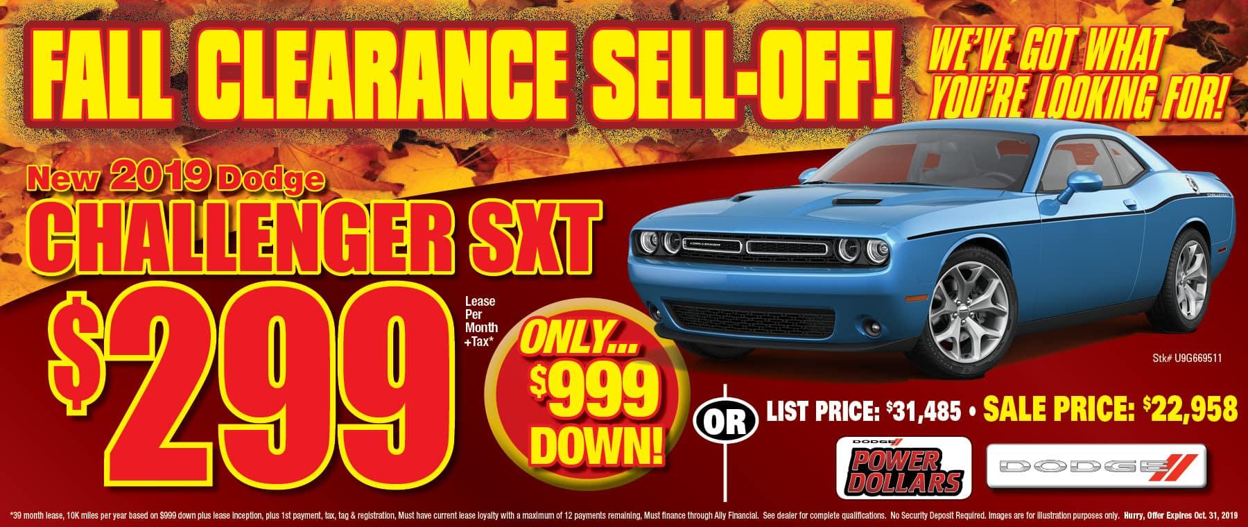 Dodge Challengers!