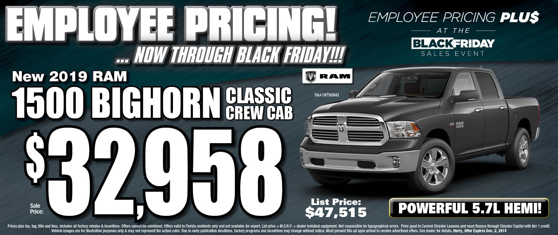 New Ram Big Horn Classic Crew Cab!