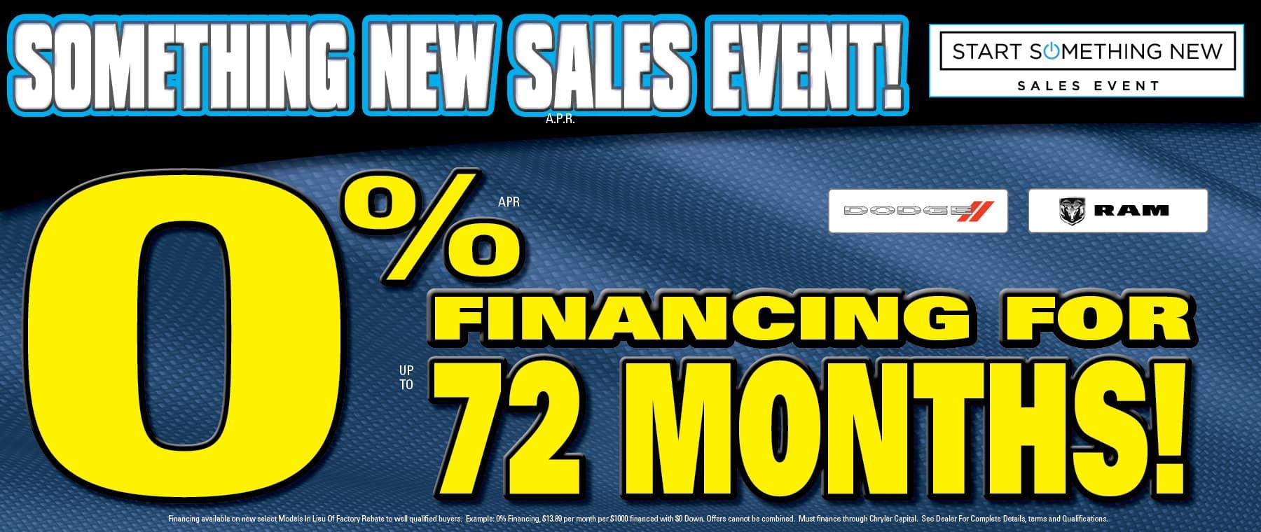 Get 0% APR Financing!