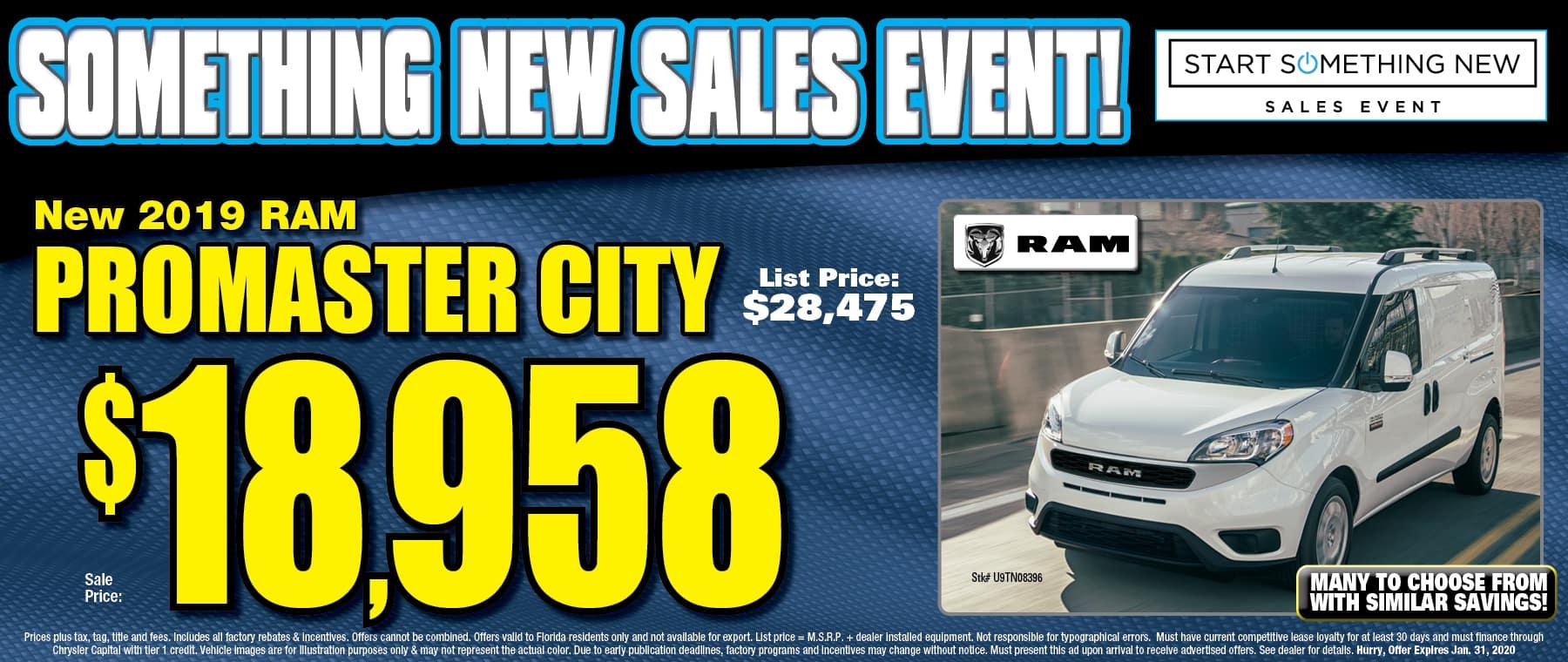 New Ram Promaster City!