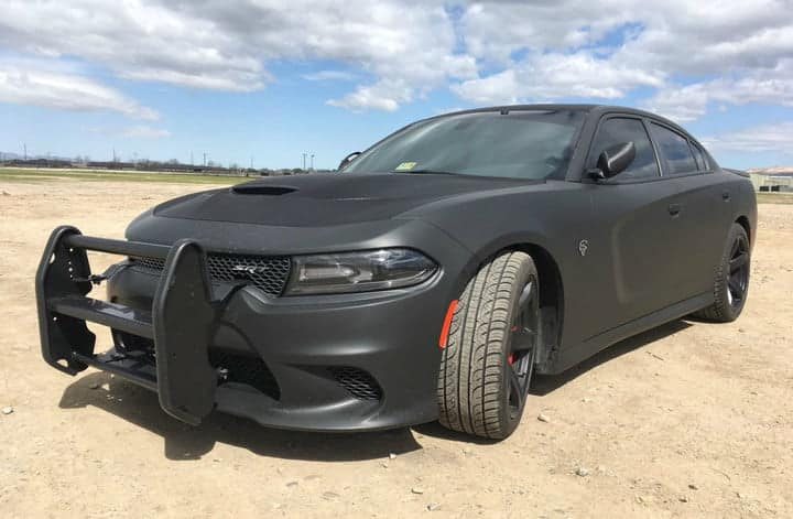 AWD Dodge Charger SRT Hellcat: Reporting For Police Duty