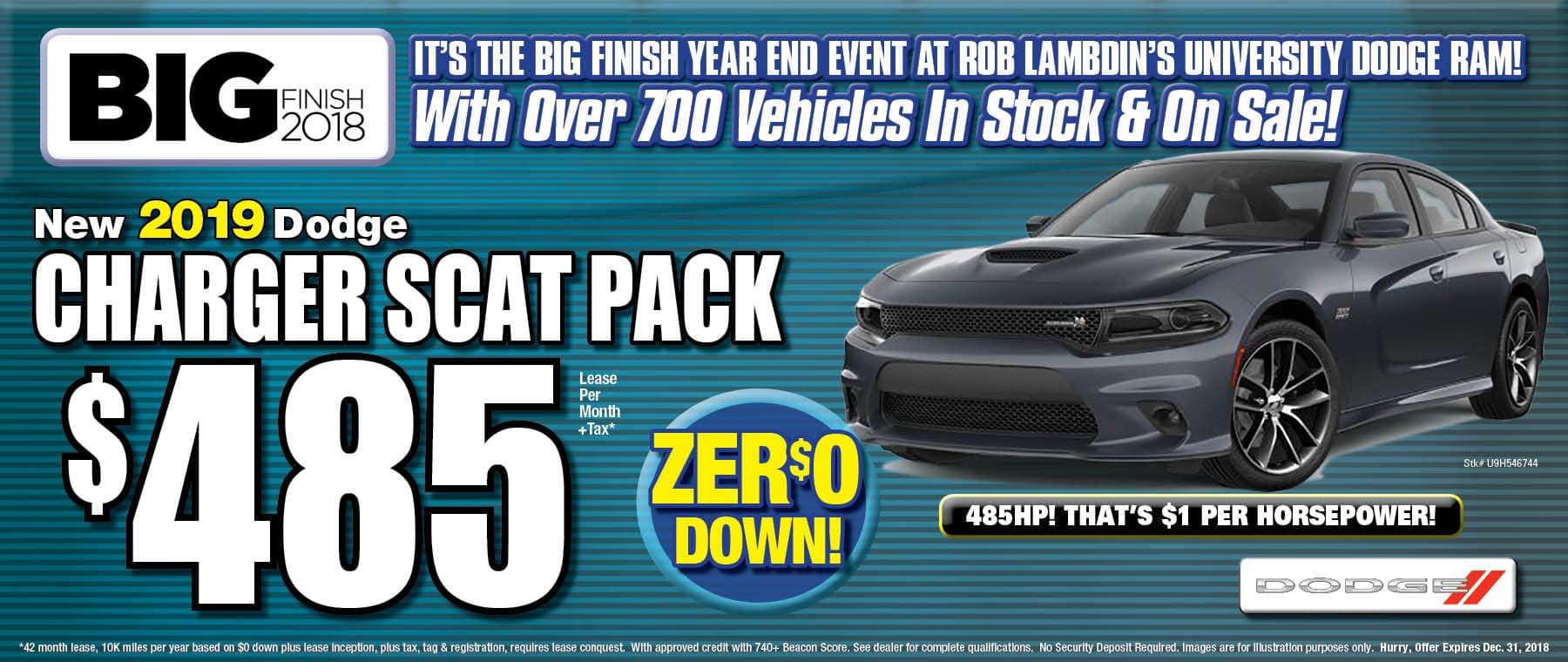 New Dodge Charger Scat Pack