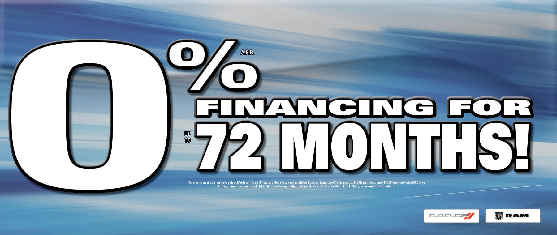 o% Financing - University Dodge RAM!