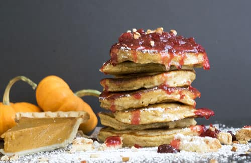 pumpkin pie pancakes leftovers university dodge