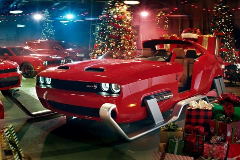 University Dodge Ram Challenger Hellcat Sleigh