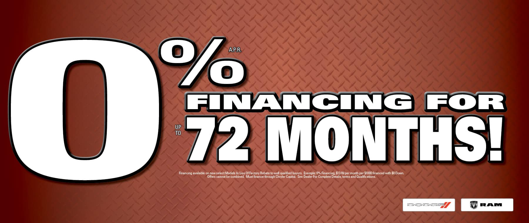 0% APR Financing Available! - University Dodge RAM!