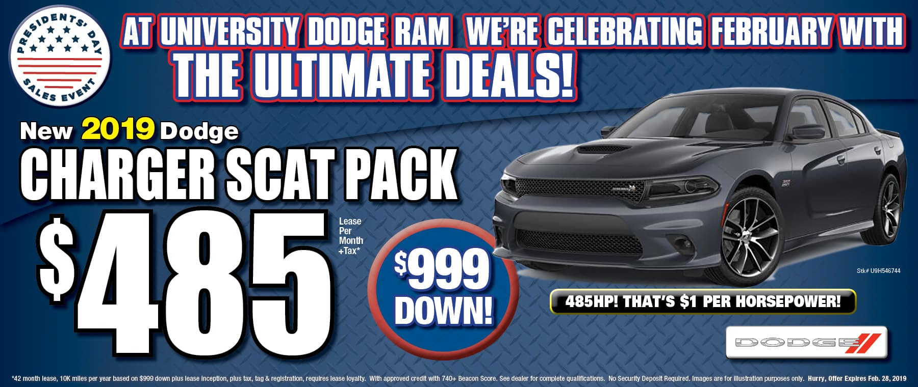 Power - Dodge Charger SCAT PACK - University Dodge RAM!
