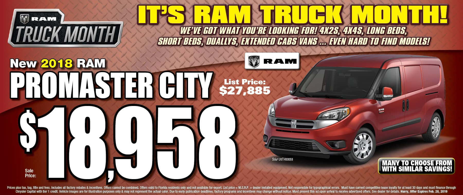 New RAM Promaster City! - University Dodge RAM!