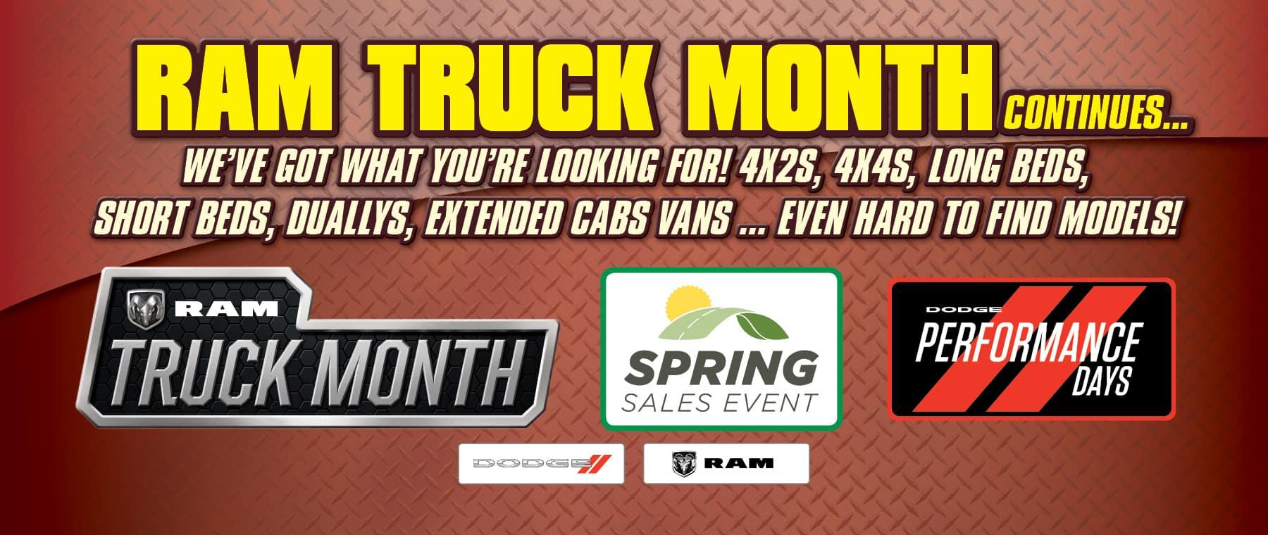 It's Ram Truck Month!