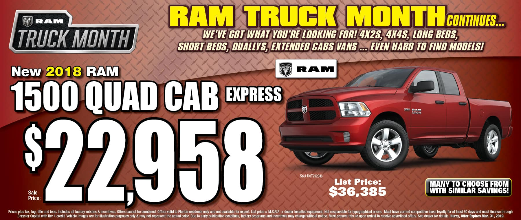 New Ram Quad Cab Express! - University Dodge RAM!