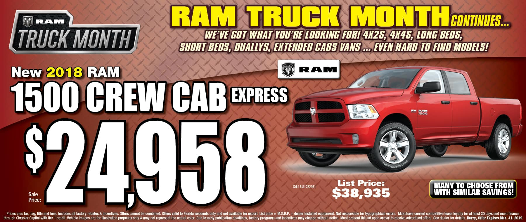Ram Crew Cab Express! - University Dodge RAM!