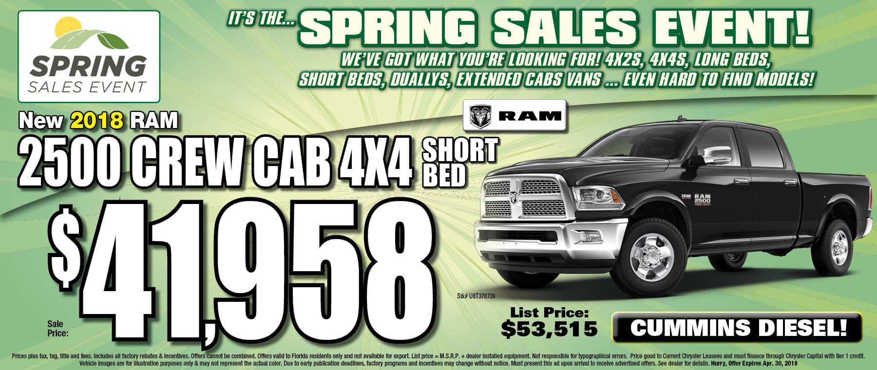 Ram 2500 Crew Cab!