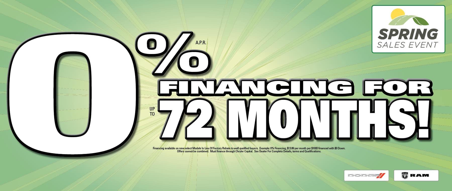Great Financing at University Dodge RAM!