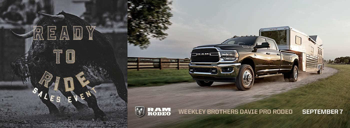 Ready to Ride Sales Event Rodeo Ram