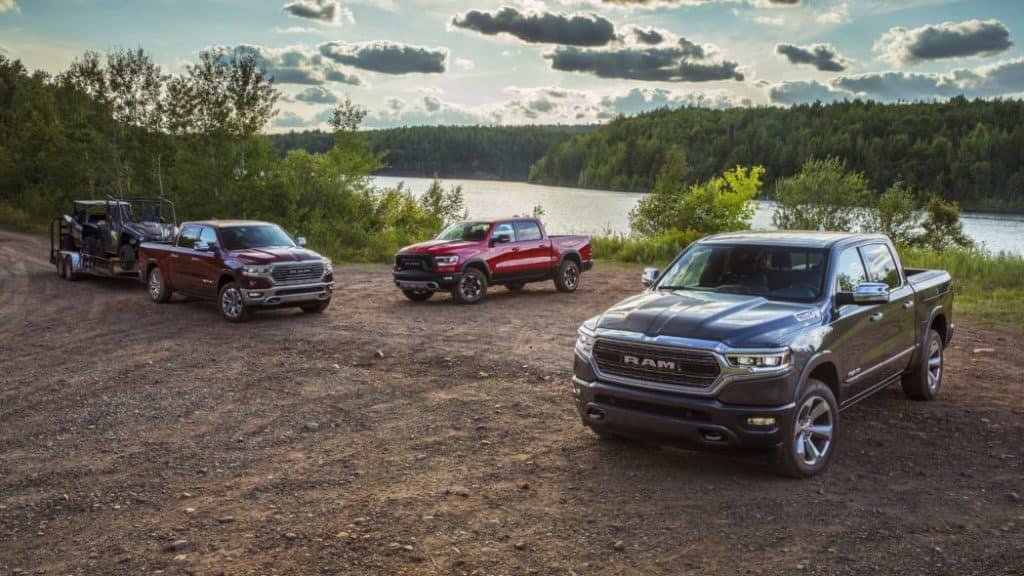 2020 Ram 1500 Earns A Top Safety Pick Plus Rating