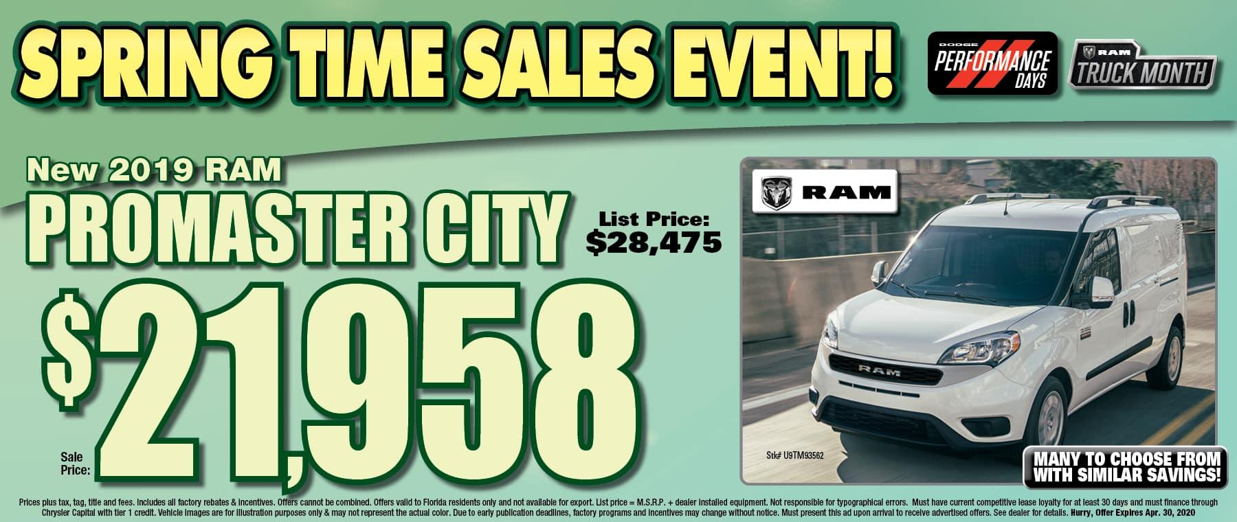 Ram Promaster City!