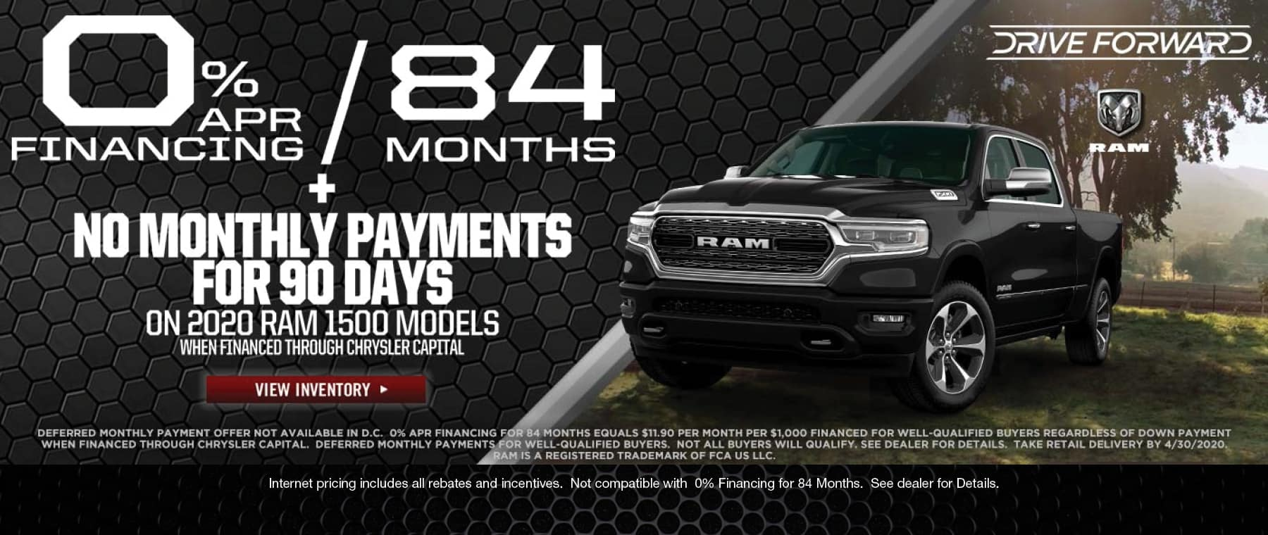 84 Months 0% Financing!