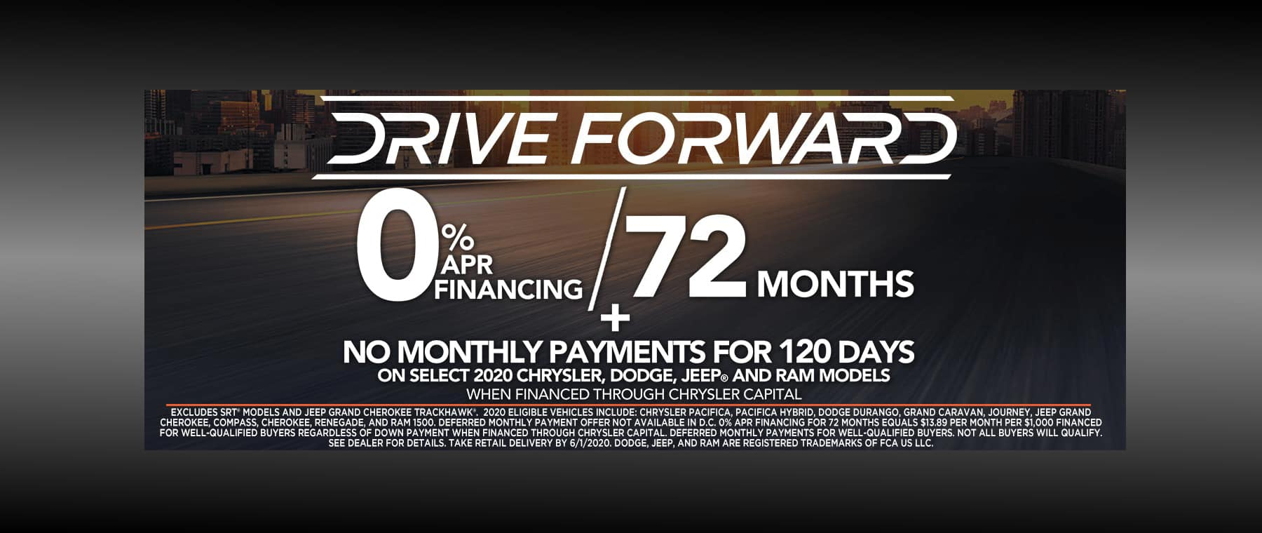 0% Financing for up to 72 Months!