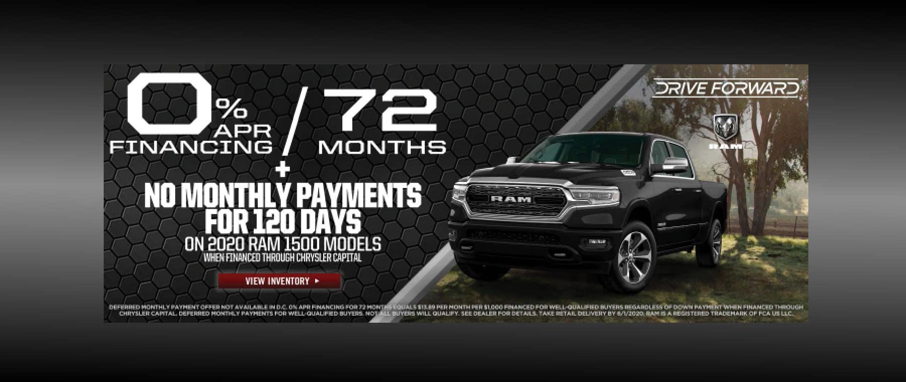 Ram Trucks 0% Financing