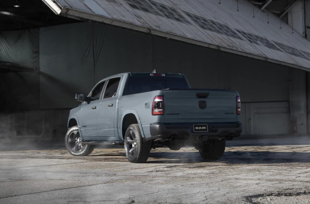 Ram Trucks Salutes The Air Force With Its Latest Ram 1500 Built To Serve Edition