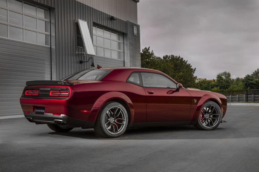Dodge Adds Challenger Widebody Option For More Models In 2021
