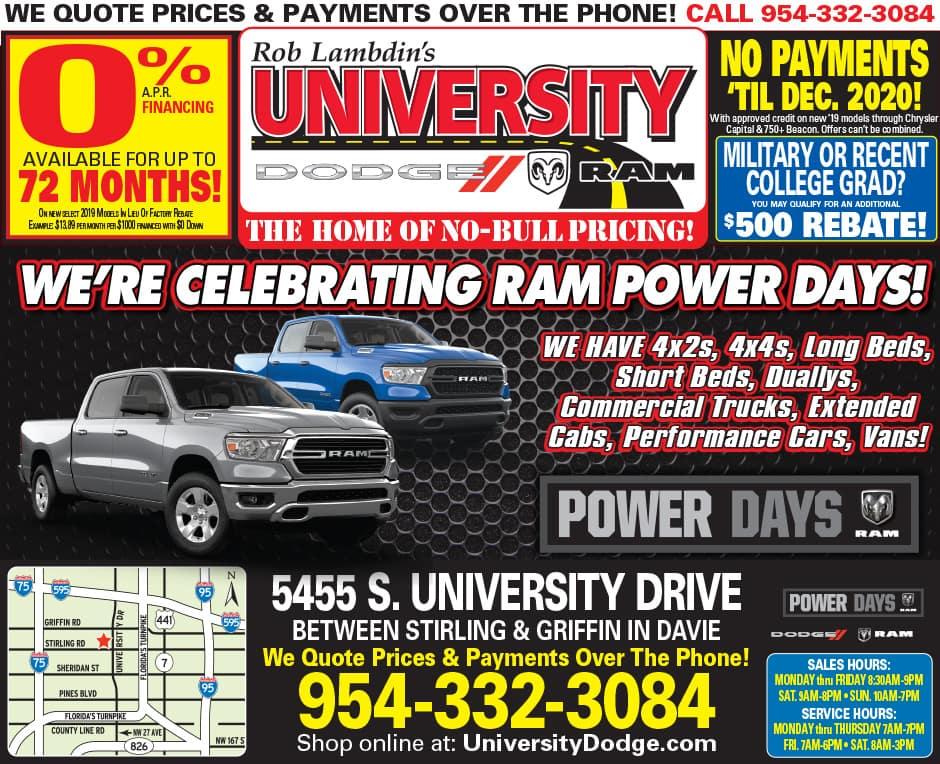 Ram Power Days!
