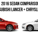 University Comparison Mitsubishi Lancer Chrysler 200