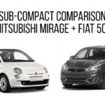University 2017 Mitsubishi Mirage Fiat Comparison
