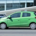University Mitsubishi Mirage Vehicle