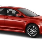 2016 University Mitsubishi Lancer Red