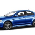 University Mitsubishi 2017 Lancer Blue
