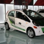 University Mitsubishi i-Miev Plugged-in