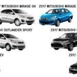 Mitsubishi 2017 Models