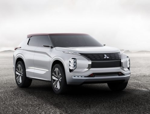 Mitsubishi Reveals New Concept SUV, the Outlander PHEV GT