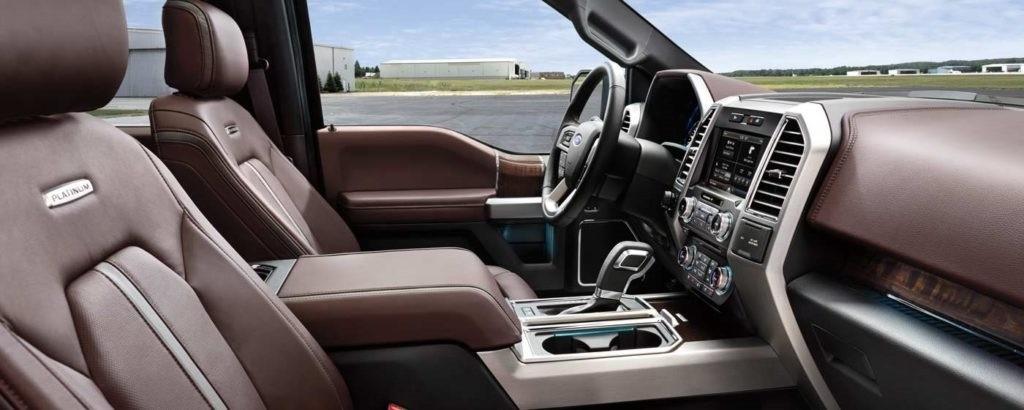 2016 Ford 150 Interior