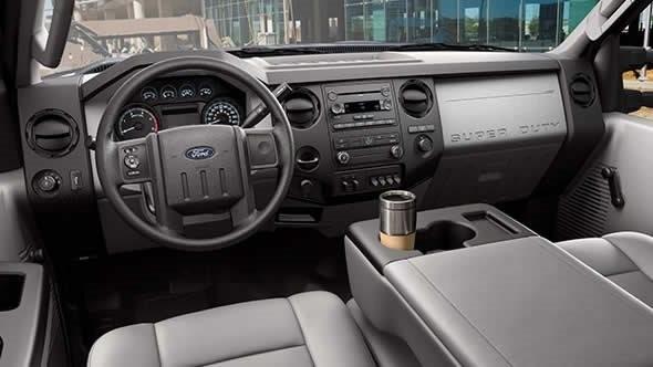 2016 Ford F250 Interior
