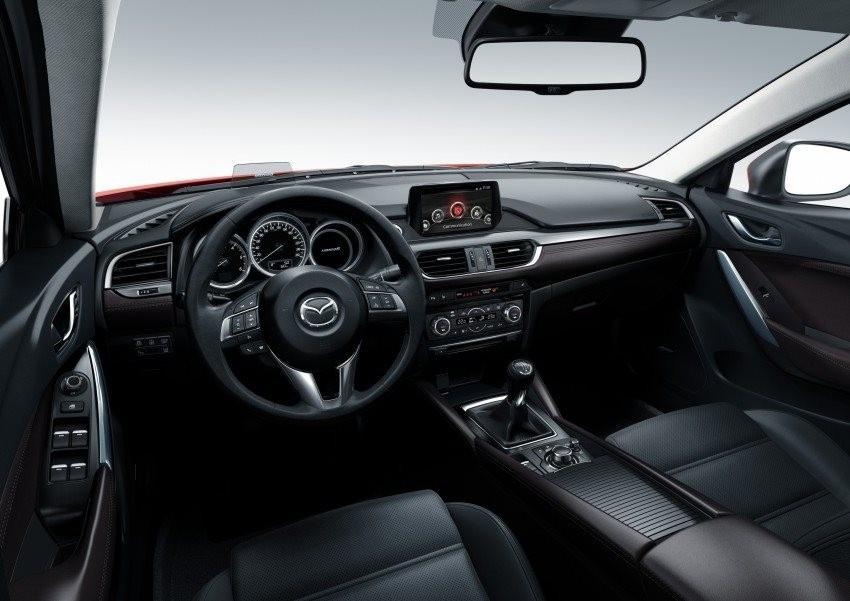 2016 Mazda Interior