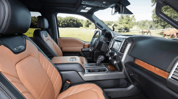 2017 Ford F150 Interior