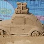 University Mitsubishi Beach Proof Car