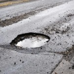 University Mitsubishi Potholes