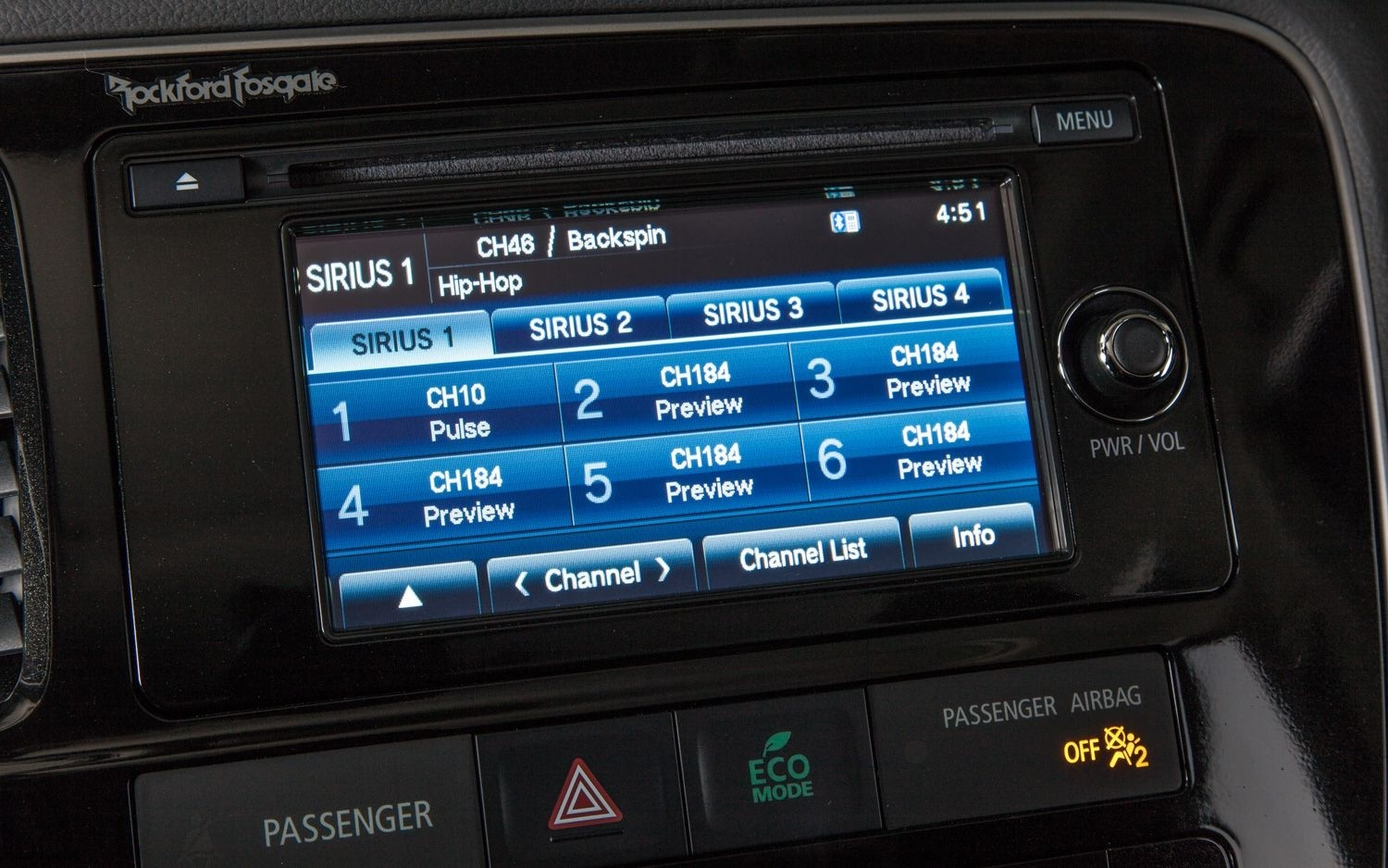 What is Included with Mitsubishi's Infotainment System?