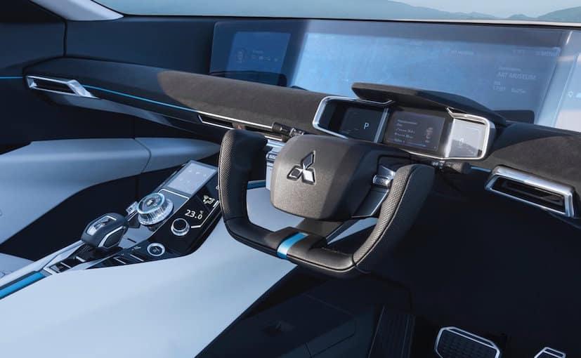 University Mitsubishi e-Evolution Concept Tokyo Motor Show Interior