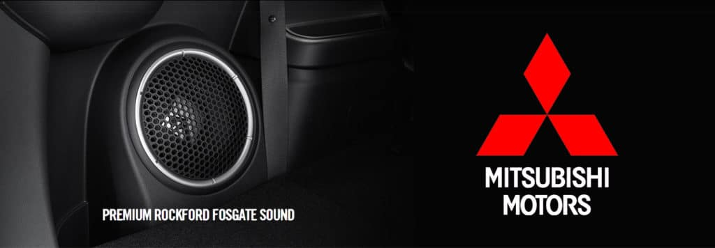 University Mitsubishi 2018 Rocksford Fosgate Sound Speaker