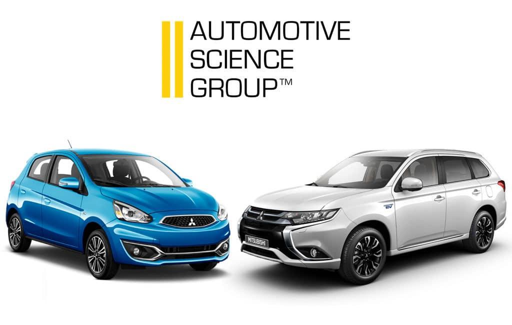 University Mitsubishi Motors Automotive Science Group Outlander PHEV Mirage