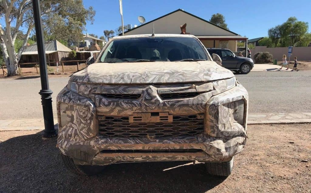 University 2019 Mitsubishi Triton Front Spy Shot
