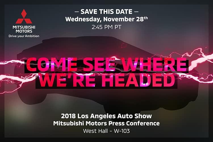 University Mitsubishi 2018 LA Auto Show Teaser