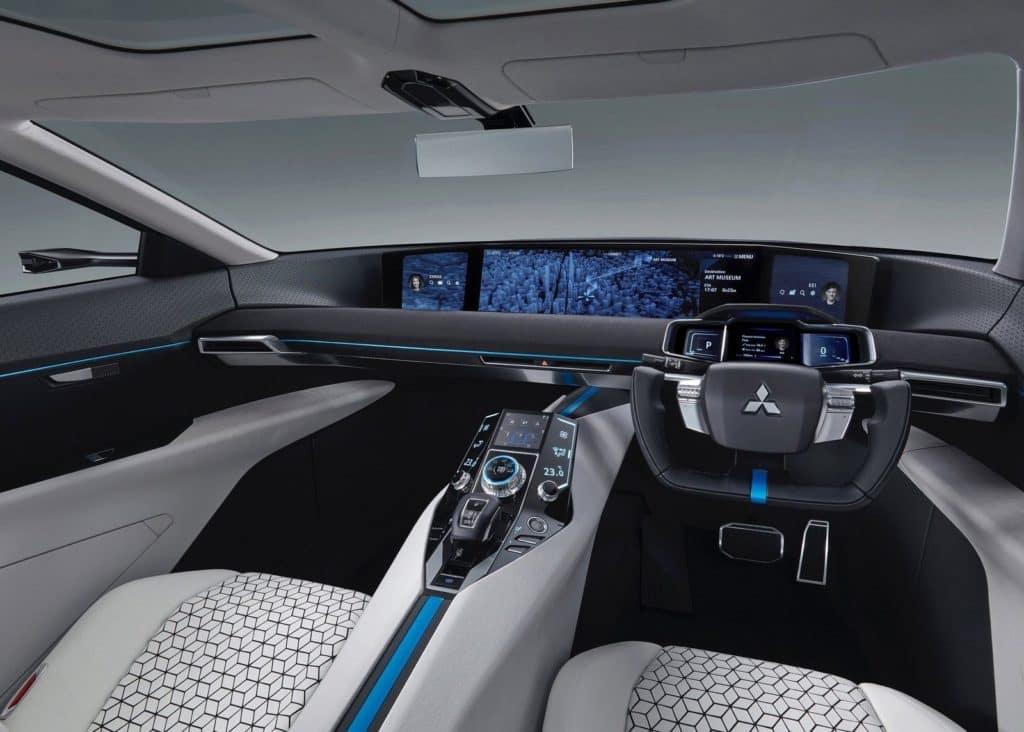 University Mitsubishi e-Evolution Concept Interior